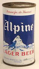 Alpine Lager Beer by Moosehead Breweries Ltd Lancaster, New Brunswick Canada