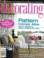 Decorating Magazine Patterns Family Room Makeover Perfect Sofa Guide Style Trick