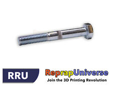 Hobbed Bolt - 3D Printing / Prusa / Mendel / RepRap / M8x60 - Galvanized Steel