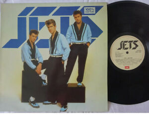 The Jets-100% Cotton LP 1982 Superb UK 1st Pressing