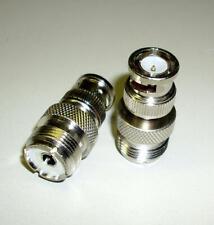 2 Stück BNC-Adapter, BNC-Stecker / PL-Buchse (M3665-2)
