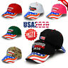 New President Donald Trump 2020 Hat USA Flag Keep Make America Great Again Cap