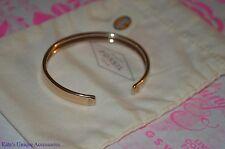 Fossil Brand Rose Gold-tone Flex Open Fashion Bangle Bracelet Stainless Steel