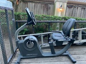 Epic A17 R Recumbent Bike, Silver color, used but still in perfect condition