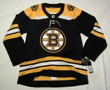BOSTON BRUINS size 54 = XL - ADIDAS NHL HOCKEY JERSEY Climalite Authentic Home