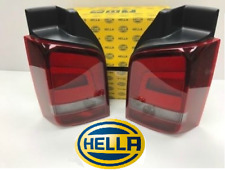 VW T5 Sportline Rear Lights Smoked 03 - 15 Set Genuine Hella OEM (free bulbs)