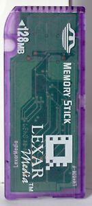 Lexar 128mb full size memory stick.