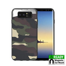 For Samsung Galaxy NOTE 8 Hybrid Magnetic Back Plate Case Cover Army Camouflage