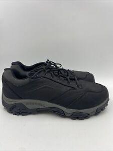 Merrell Men Moab Adventure Lace shoes black size 9 M , 504