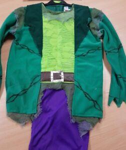 Children's Frankenstein Fancy Dress Costume Halloween Aged 11-12 Years