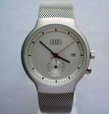 Audi Quattro Motorsport DTM Line Rally Racing Sport Car Design Chronograph Watch