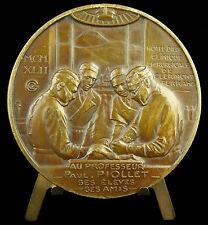 Médaille Clermont Ferrand 1942 à Paul Piollet Chirurgie Surgery anatomy Medal
