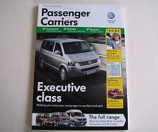 Volkswagen . Passenger Carriers . January 2012 Sales Brochure