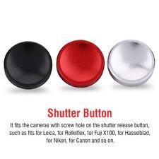 3X Concave Smooth Shutter Release Button For Fuji X100 Hasselblad Nikon Canon RH