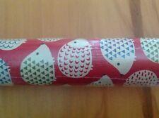 Bulk 48 Rolls Tesco 2m  x 70cm amber hedgehog Wrapping Paper Gift Wrap