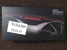 GRAFIKKARTE AMD Radeon RX 6700 XT GPU 12 GB +++ Referenzmodell NEU/Versiegelt