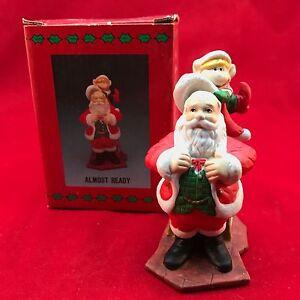 Santa's Visit Almost Ready With Box Slay Presents Elf EUC 1995 Holiday