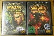 2 x World of warcraft - Cataclysm + Burning Crusade - Erweiterungsset - Blizzard