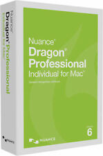 Nuance Dragon Professional Individual for Mac 6 - New Retail Box S601A-G00-6.0