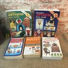 Lot of FIVE Antique and Collectibles price guide books Schroeders, Kovels books