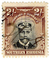 (I.B) Southern Rhodesia Revenue : Duty Stamp 2/-