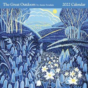 Annie Soudain - The Great Outdoors - 2022 Square Wall Calendar - Zero Plastic!