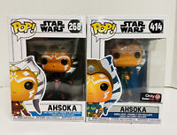 Funko Pop Star Wars Ahsoka Tano Clone Wars Lot GameStop Exclusive #414 268