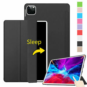 Slim Thin Smart Stand Case For iPad 10.2 8th 7 6 5 Air Mini 5432 Auto Sleep/Wake