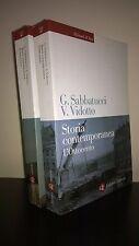 Sabbatucci Vidotto Storia contemporanea 2 vv. Laterza Roma-Bari 2008-09 nu. ed.