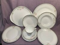 Vintage Royal Doulton Twilight Rose Ceramic Tableware H5096 Great Condition