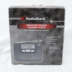 RadioShack Weather Radio Alarm Clock NOAA Weather 1200093 NEW A004