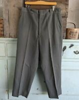 Vintage 1940s United States Testing Co. Inc. Gabardine Pants Talon Zipper sz 35