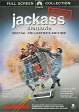Jackass: The Movie (DVD, 2003, Full Frame) WORLD SHIP AVAIL