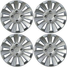 "Ford Focus Hub Cap 2004 - 2010 A/M 4 Piece Set 15"" Inch Silver Skin Wheel Cover"