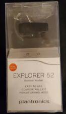 New listing *Newopen*Plantronics Explorer 52 Bluetooth Headset - Siri & Google Ready -Black