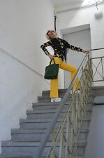 TOYOBO Helanca Damen Schlaghose Hose TRUE VINTAGE pants trousers 70's yellow