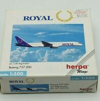 Herpa Wings 1:500 503792 Royal Aviation Canada B757-200 Diecast New Opened Box