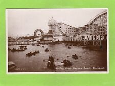 More details for boating pool pleasure beach fairground blackpool rp pc used 1933 ref f75