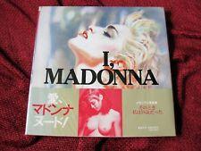 Madonna Japan Only Version Nudes Photographs Book Promo Obi Sealed Mint Sex