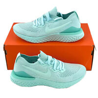 Nike Epic React Flyknit 2 Teal Tint Women's Sneakers Shoes Green Blue BQ8927 300
