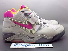 Men's Nike Air Force 180 PRM Pearl Grey Rave Pink Medium Grey 2006 Barkley sz 11