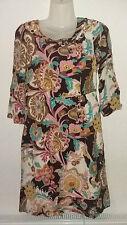 Boden Viscose 3/4 Sleeve Dresses Midi