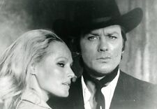ALAIN DELON  URSULA ANDRESS  SOLEIL ROUGE   1971 VINTAGE PHOTO