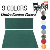 Replacement Canvas Seat & Back Cover Outdoor Patio Garden Directors Chair Cover