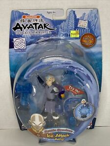 NEW Avatar The Last Airbender Ice Attack AANG Action Figure Mattel 2006 RARE