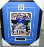 JP Arencibia Signed Hitting Baseball 2012 8x10 Photo Toronto Blue Jays Framed