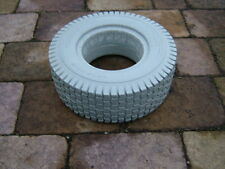 PAIR OF PUNCTURE PROOF 13x5.00-6  GOLF BUGGY TYRES. BRAND NEW. COLOUR GREY