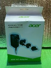 Acer Iconia Tab Aspire One 40W AC Adapter - Brand New -
