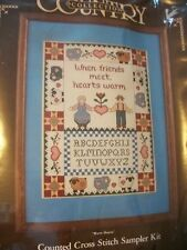 "Paragon Country Collection ""Warm Hearts"" Cross Stitch Kit Size 11"" x 14"""