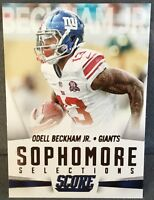 2015 Panini Score Football Sophomore Standouts Odell Beckham Jr New York Giants